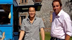 Jun & Galton & that lovely van